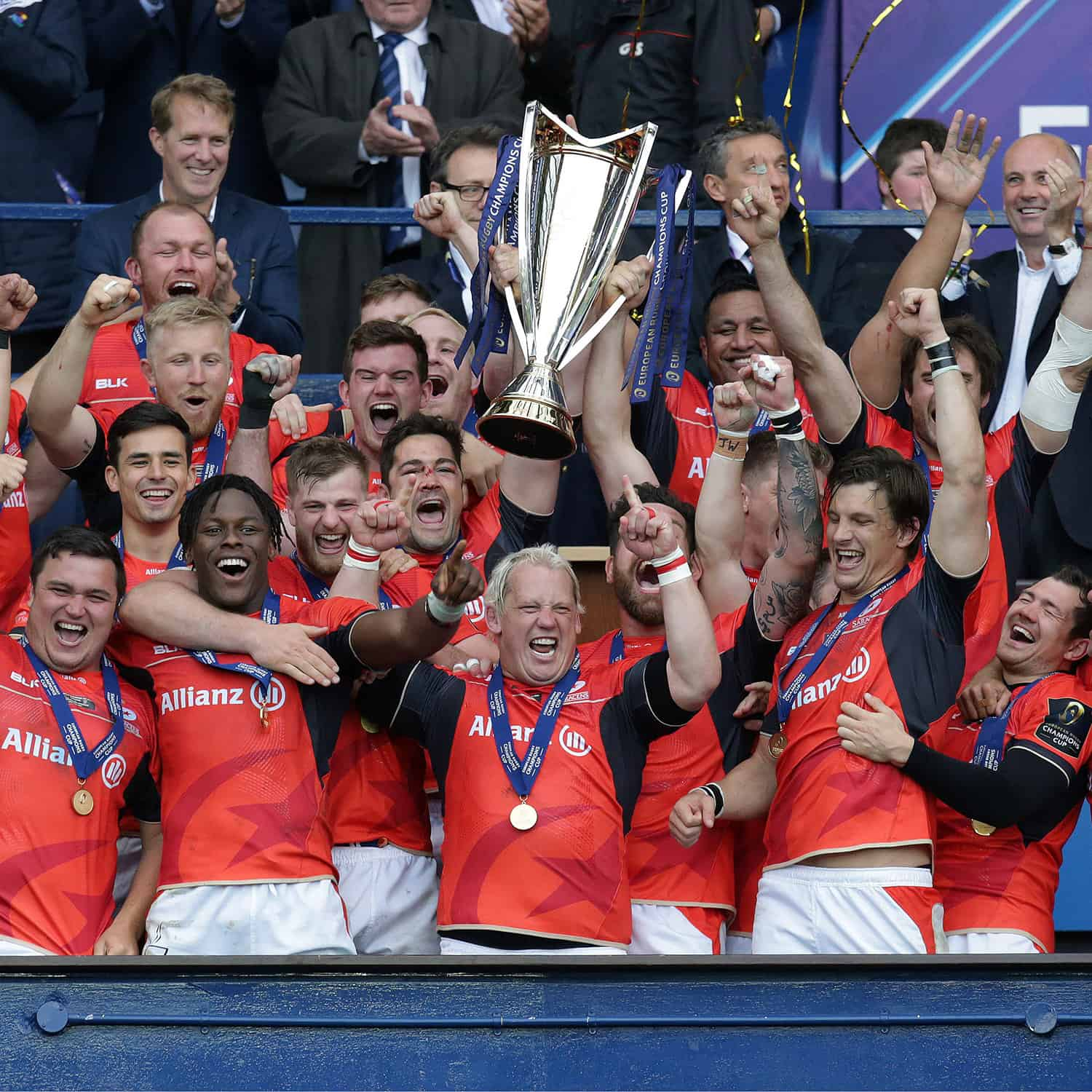 Saracens v Clermont AuvergneEuropean Rugby Champions Cup Final