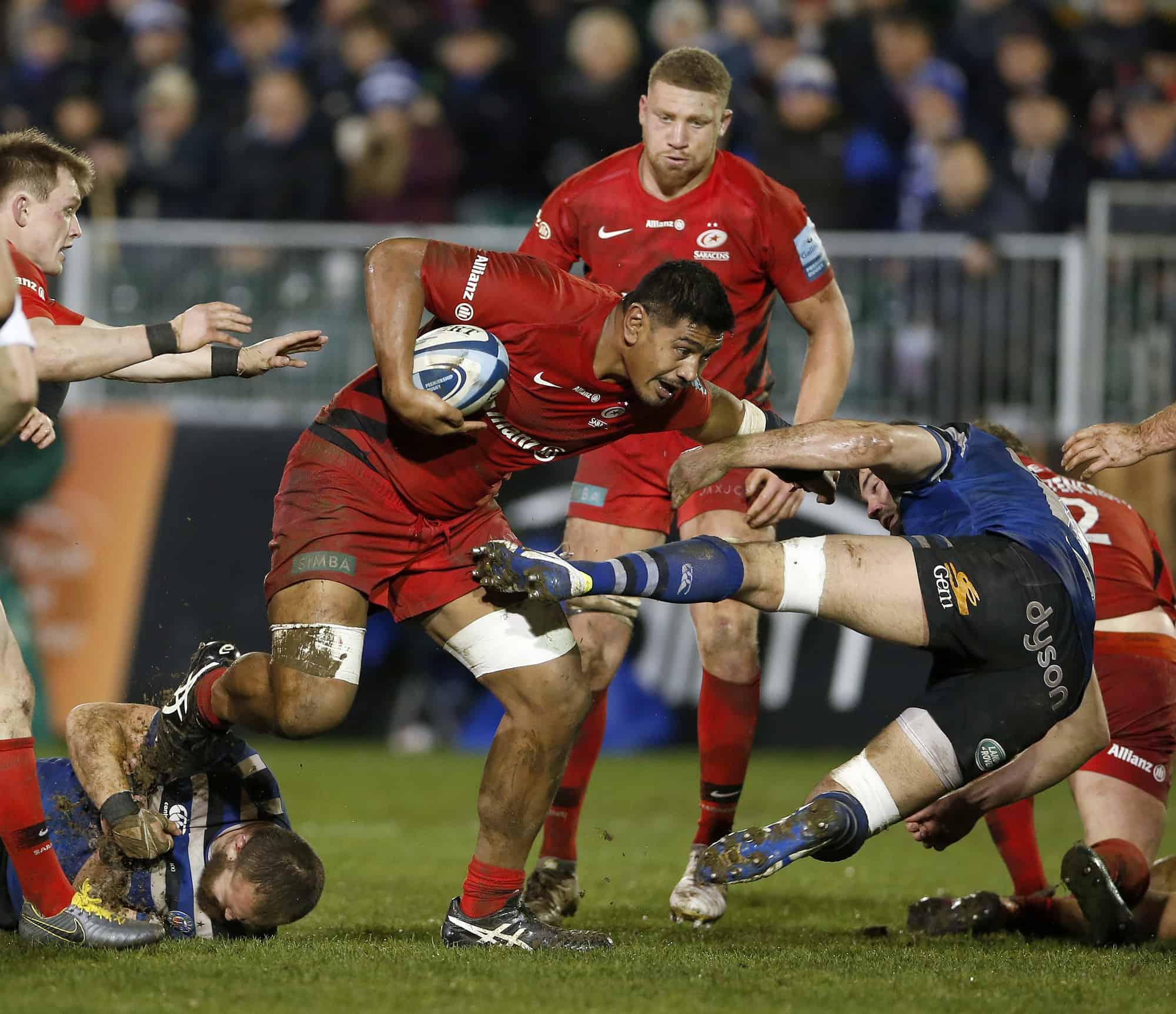 Match Report Bath Rugby 18 9 Saracens Men Saracens