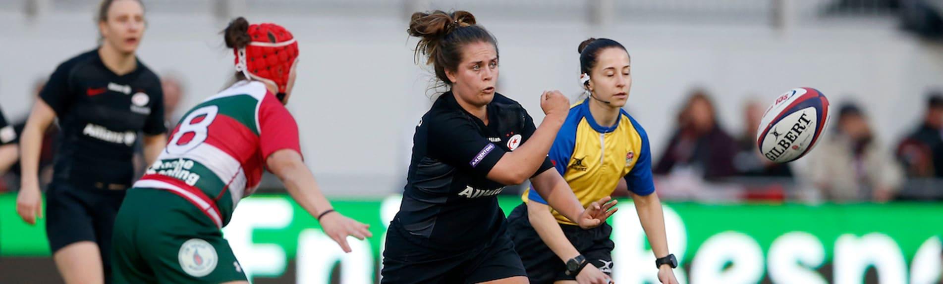 Saracens Women v Firwood Waterloo LadiesTyrrells Premier 15s