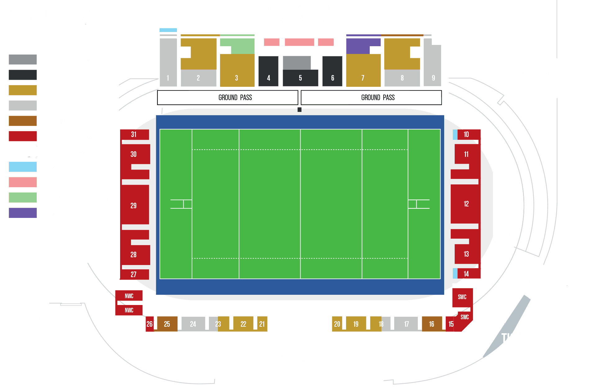 STADIUM PLAN 2019