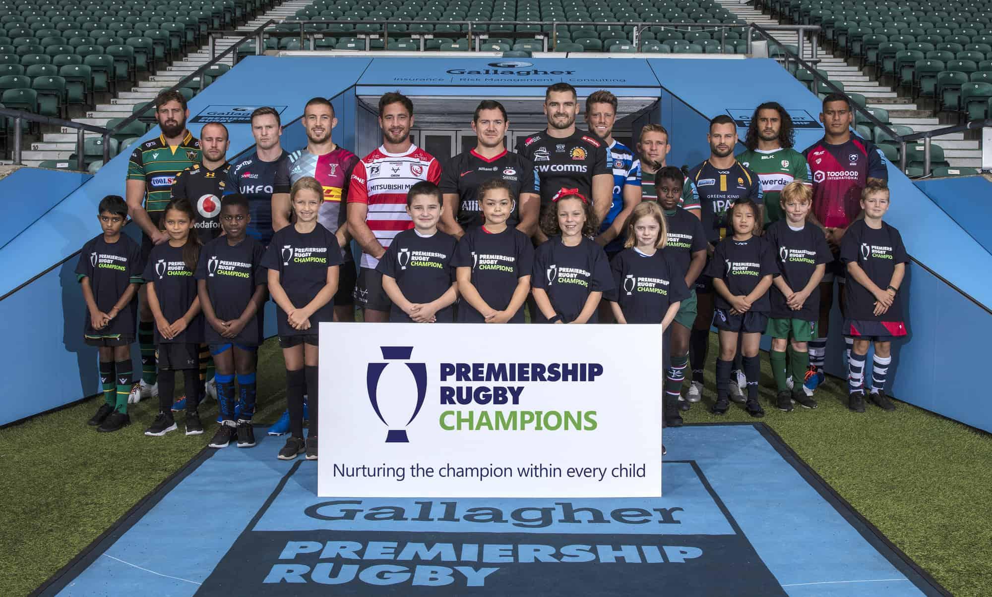 Gallagher Premiership Rugby Launch, Twickenham, UK - 11 Sept 2019