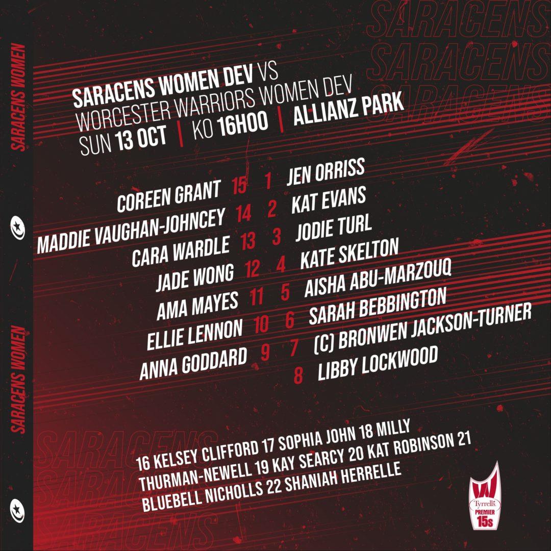 Line-up vs Worcester Instagram-14