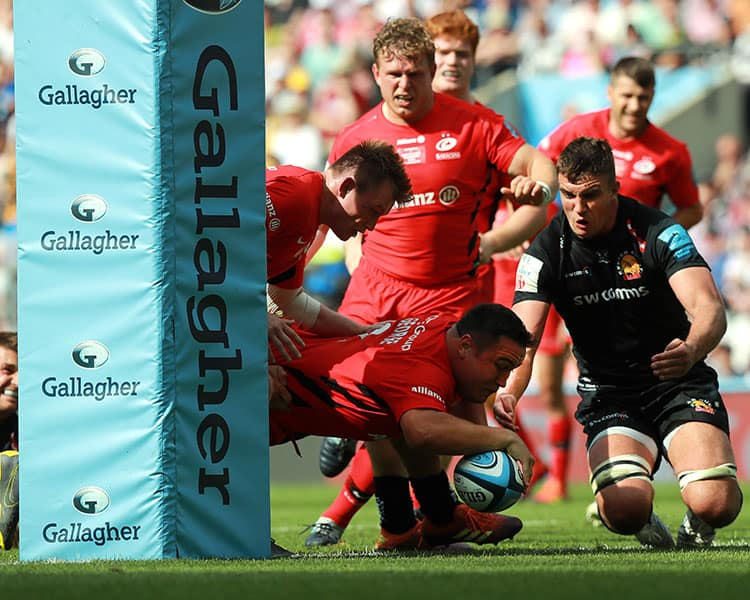 Saracens v Exeter Chiefs - Gallagher Premiership Rugby Final
