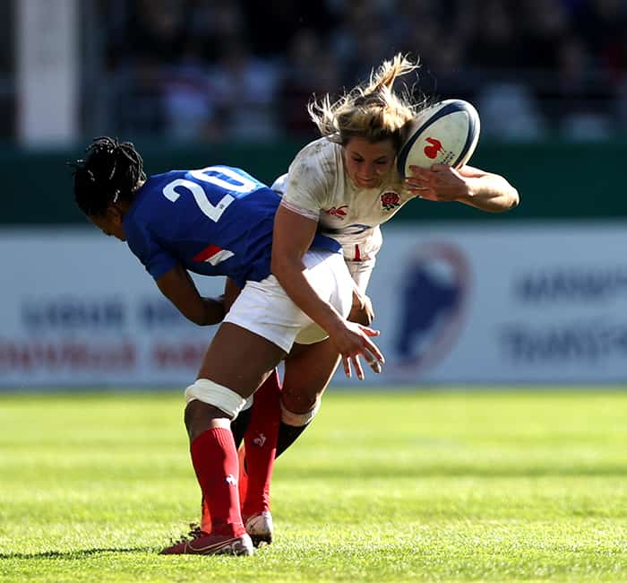 France v England - Women's Six Nations Tournament