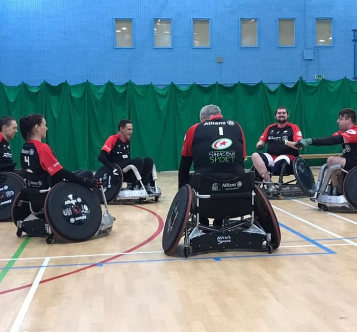 SWRC Canterbury Friendly Saracens web post