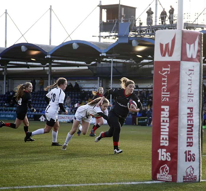 Worcester Warriors Dev XV v Saracens Women Dev XVTyrrells Super 15s
