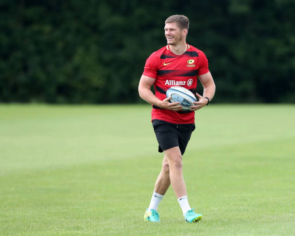 Saracens Training