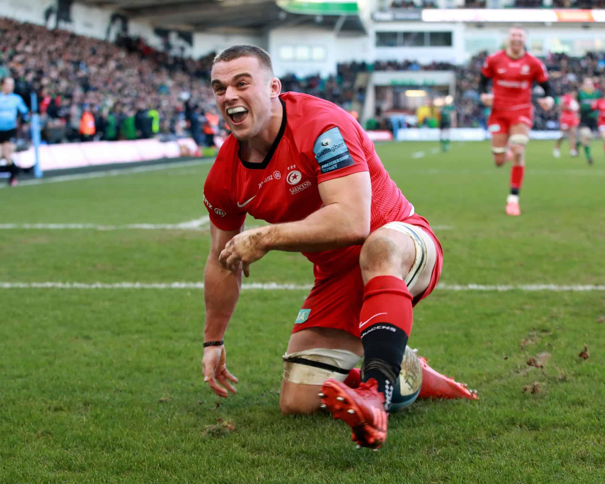 Northampton Saints v Saracens - Gallagher Premiership Rugby