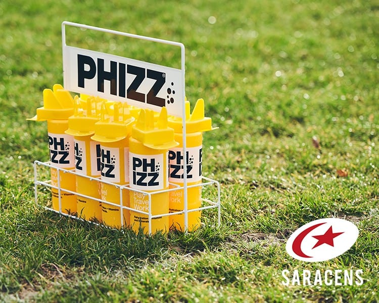 Sarries x Phizz resign Web banner (750x600px)
