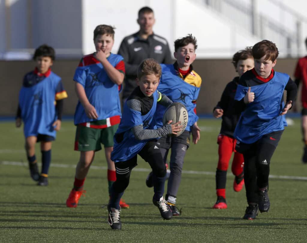 Saracens Half Term Rugby Camp
