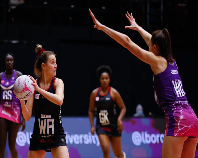 Loughborough Lightning v Saracens MavericksVitality Netball Superleague 21/02/2021