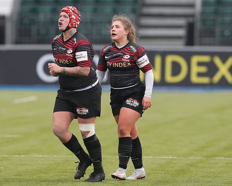 vs bristol bears women match report